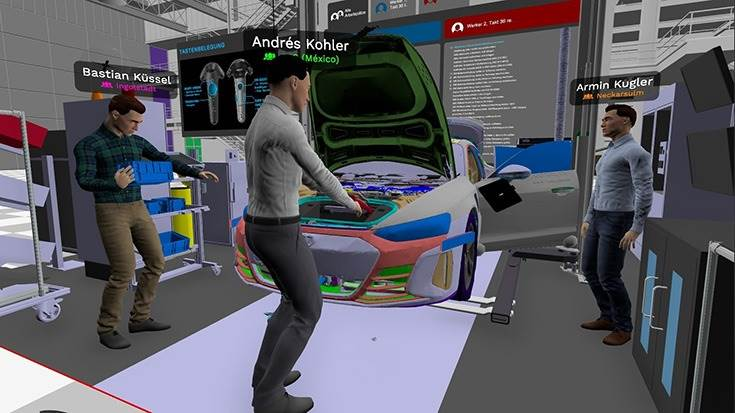 When planning the assembly of thee-tronGT, all assembly processes such as workflows and actions by employees were tested and optimized in virtual rooms.