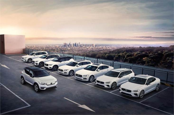 By 2025, every new Volvo will be an EV or a battery hybrid