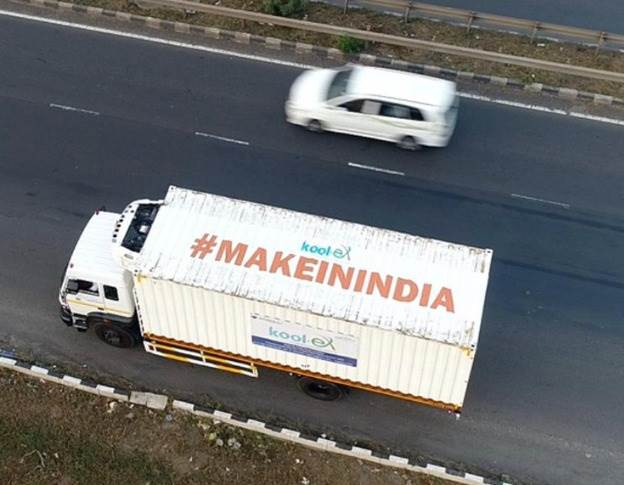 Over 30 hours, Kool-ex transported and delivered 1.1 crore vaccine doses across India.
