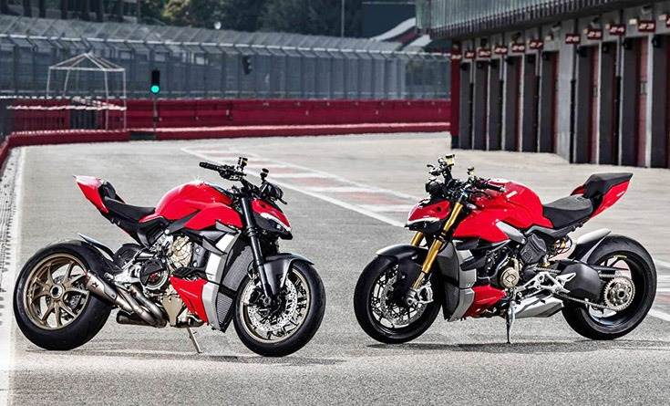 While the V4 is priced at Rs 20 lakh, the V4 S (Ducati Red) costs Rs 23 lakh.