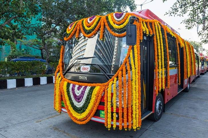 The 26 Tata Motors Ultra Urban AC Electric buses are part of a larger order of 340 electric buses inducted by Brihanmumbai Electric Supply & Transport (BEST).