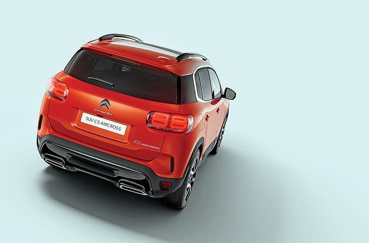The Citroen C5 Aircross for India will be powered by a 2.0-litre diesel engine good for 180hp, mated to an 8-speed torque-converter automatic gearbox.