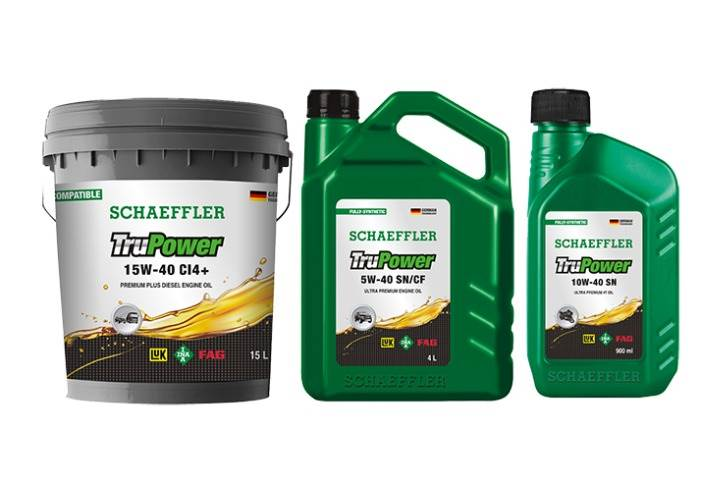 Schaeffler TruPower lubricants range also includes the latest specification oil including BS VI-compatible range.