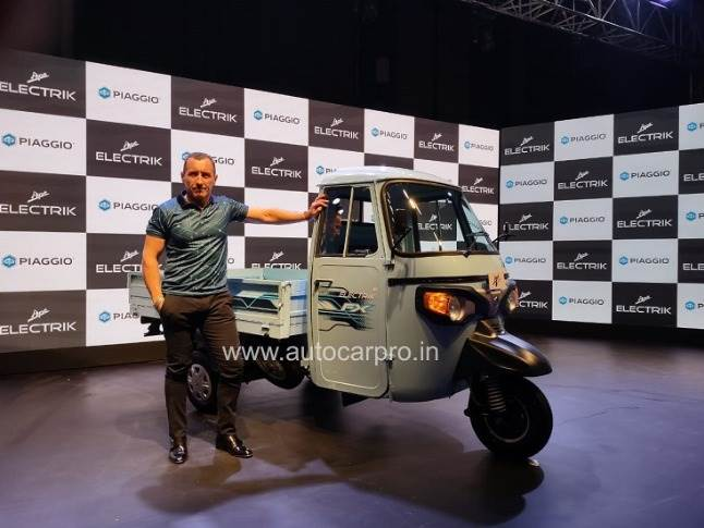 """Diego Graffi, chairman and MD, Piaggio Vehicles: """"The new FX range is a step in realising Piaggio's vision which aligns with the government's initiatives for mass adaption of EVs in India."""""""
