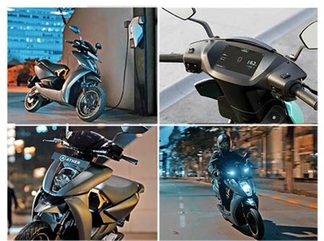 With the new 450X, Ather has upped the ante on the 450 e-scooter. The snazzy 450X has more power (6kW vs 5.4kW), more torque (26Nm vs 20.5Nm), is faster (0-60kph in 6.5sec), lighter (by 4kg) and has better riding range (85km in Eco mode) too.
