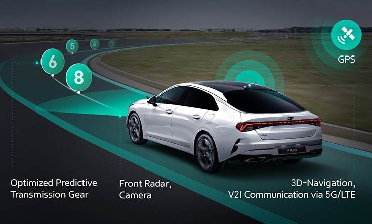 ICT Connected Shift System is the first ICT to automatically shift the gear according to road and traffic conditions.