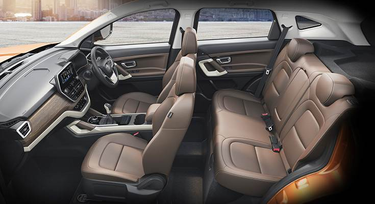 By deploying Land Rover's D8 platform, Tata Harrier is larger than its rivals in terms of dimensions, which shows in interior space.