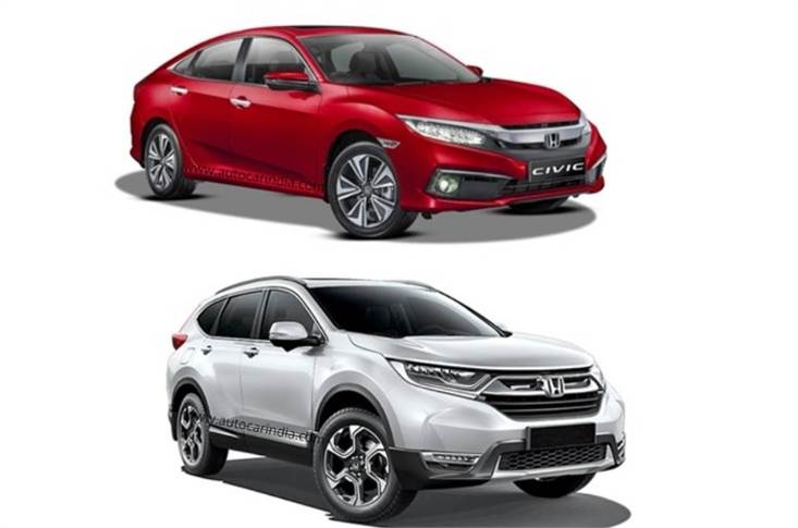 The closure of the Greater Noida plant has led to the axing of the CKD-assembled Honda Civic and CR-V.