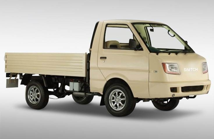 The eDost SCV has a 150km range with 1,000kg and GVW of 2,620kg. Switch Mobility will tap India