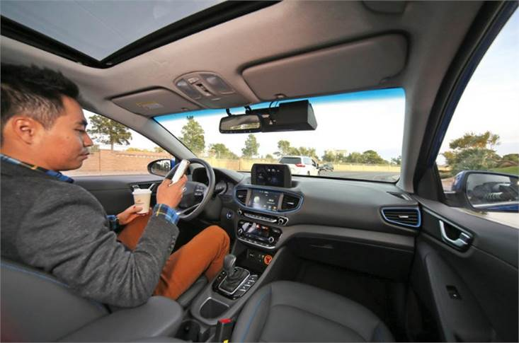 Hands-off driving is not allowed in Europe despite tech existing