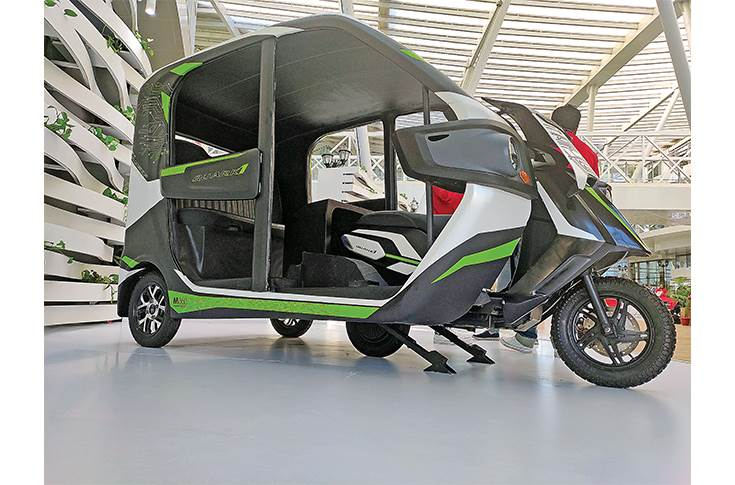 The Quark BEV concept, a mix of an L2 and an L5 vehicle, is pitched as the world