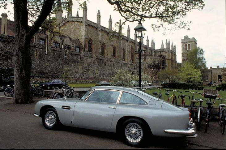 All theDB5GoldfingerContinuation cars are being built to one exterior colour specification – Silver Birch paint – just like the original seen here.