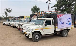 The Oxygen On Wheels program has been already been initiated in Maharashtra, starting with Pune and Chakan where 20 Boleros have delivered 61 jumbo cylinders to 13 hospitals.
