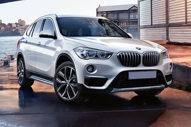 The X1 (above) along with the X3 and X5 SUVs contributed 50 percent to BMW India's sales in 2019.