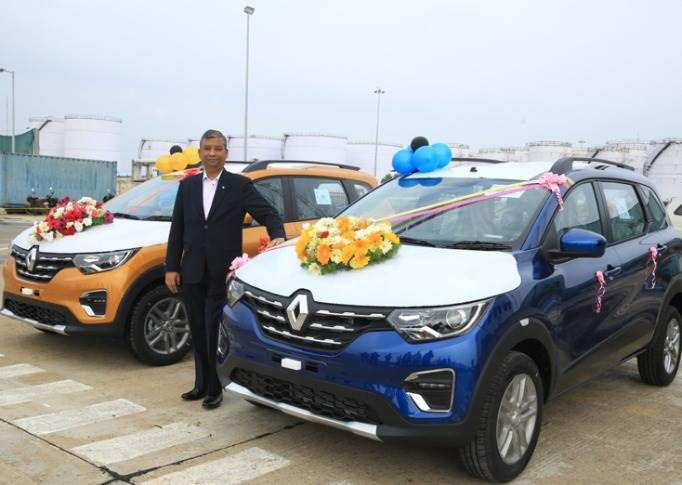 "Venkatram Mamillapalle, Country CEO and MD, Renault India Operations: ""We foresee potential growth and high demand from other African markets, ASEAN and SAARC countries alongside growing the Triber family in India."""