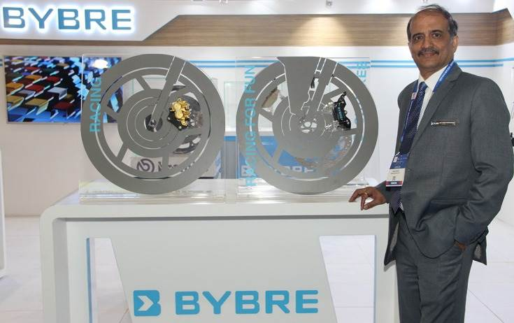 "Sudhir Nirantar, CEO, Brembo Brake India: ""We have added new clients in Mahindra Jawa, Ather Energy, which is the first electric two-wheeler in India that gets ByBre brakes."""