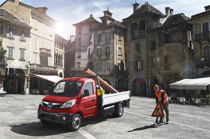 Depending on the configurations, the Piaggio Porter NP6 will be sold at an ex-showroom price starting from over 15,000 euros (Rs 12.40 lakh) for the petrol\LPG version.