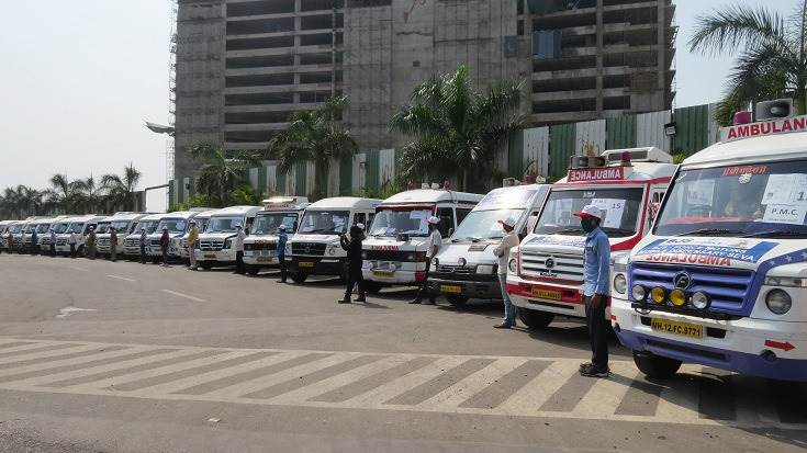 Force Motors says with close to 73 vans this is one of the largest mobile healthcare initiatives in the country.