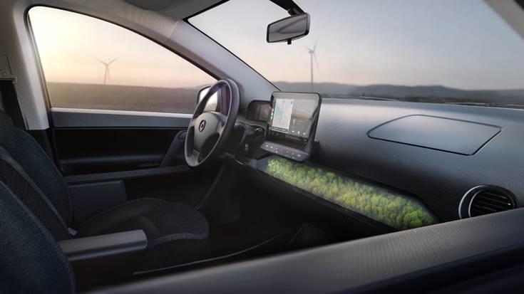 Sono Motors says itwill be possible to control all the mobility services directly via the central 10-inch display of the infotainment system with integrated connectivity as well as via the goSono app