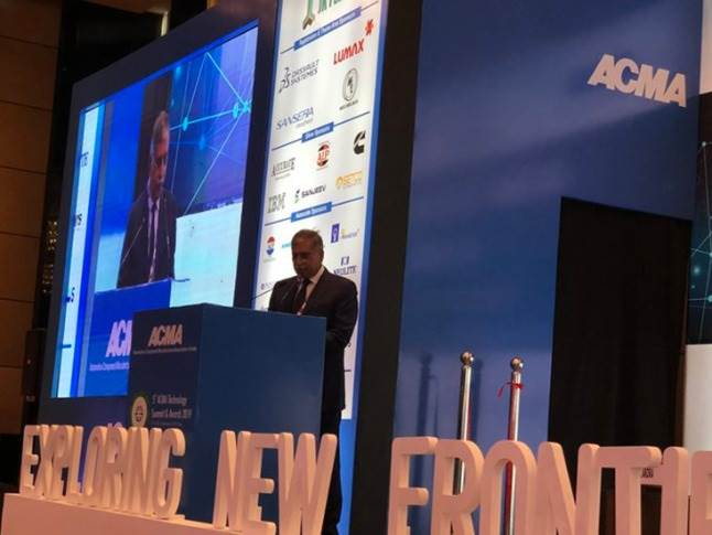 """F R Singhvi, Chairperson, ACMA Skilling & Mentoring and JMD of Sansera Engineering: """"New technologies are entering the market rapidly. We should take this up as an opportunity than a challenge."""""""