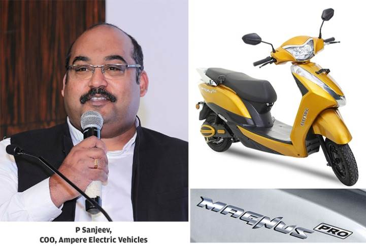"P Sanjeev: ""The Magnus Pro delivers on performance, comfort, reliability and ability, and at a price point which can be a clear alternative to a traditional scooter."""