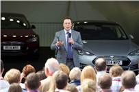 """Elon Musk: """"Clean energy vehicles are treated the same as diesel or petrol. But we are hopeful that there will be at least a temporary tariff relief for EVs."""""""