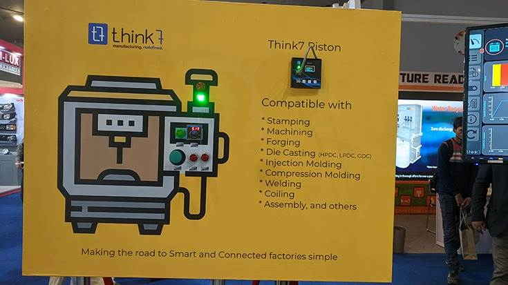 For Think 7, which offers Industry 4.0 solutions, the Expo has given it a huge platform to showcase its innovations to a wider set of audience.