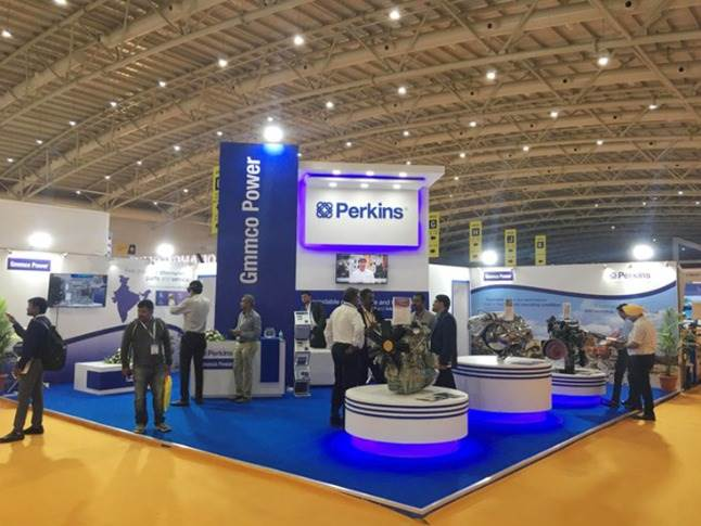 Perkins Engines was among the prominent exhibitors.
