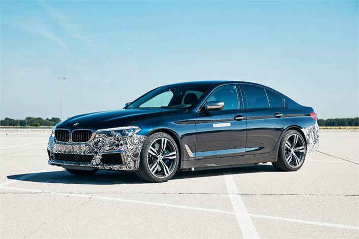 BMW Power BEV fitted with three fifth-generation electric drive units and has a maximum system output in excess of 530 kW/720 hp.
