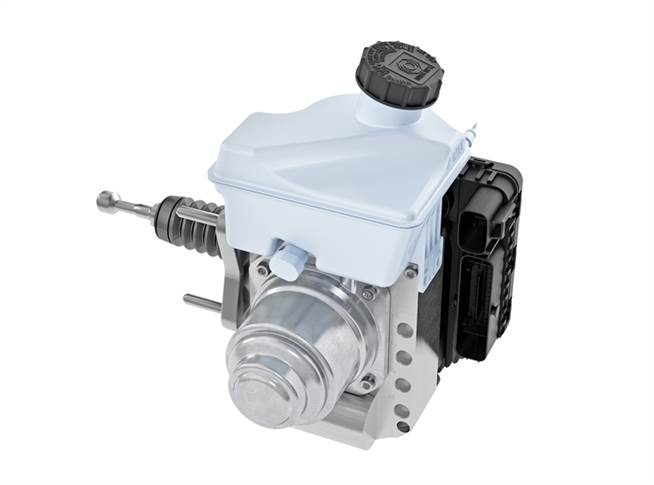 The MK C1 is the latest brake system generation from Continental, based on the ESC (includes ABS and TCS) and offering around 50 additional functions