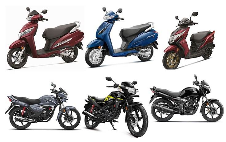 Three scooters (Activa 125, Activa 6G, Dio BS VI) and three motorcycles (SP 125, Shine, Unicorn) have given Honda the charge in BS VI sales. Expect the bulk to have come from the popular Activa.