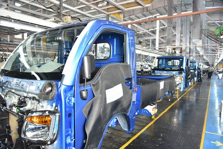 The Pantnagar plant, the youngest of the three award-winning plants, rolls out small CVs like the Tata Ace, Super Ace and the Ace Magic van.