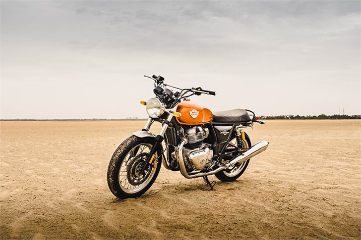 Royal Enfield says the Interceptor 650 has received a good response in the Thailand market.