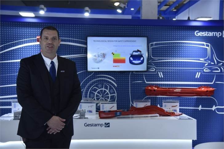 "Glyn John Jones, country manager, Gestamp India:  ""New safety norms that have been brought in by the government call us to bring more and more solutions which are lightweight yet strong enough."""