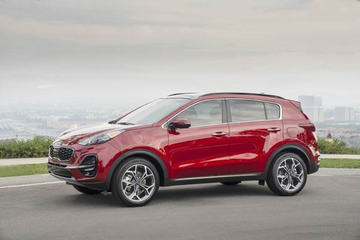 Globally, the Sportage SUV was Kia's best-seller in February with 25,555 units sold, followed by the Seltos with 25,129 units.