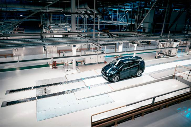 The first series production SEV will be manufactured at the former SAAB plant in Trollhättan, Sweden.