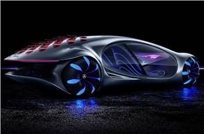 Vision AVTR concept previewed Mercedes