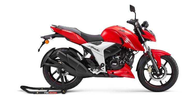 The BS-VI ready TVS Apache RTR 160 4V (disc) is priced at Rs 103,000 and the TVS Apache RTR 160 4V (drum) at Rs 99,950.