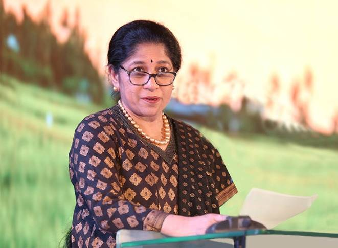 """Mallika Srinivasan:""""I look forward to engaging effectively in USIBC's initiatives towards a continuously strengthening eco-system that promotes stronger economic partnership between India and the US."""""""