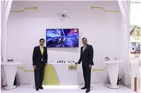 Rohit Saboo, President and CEO, National Engineering Industries (on the right) at launch of 'needle bearing' as a part of NEI's range of bearings at Auto Expo Components 2020.