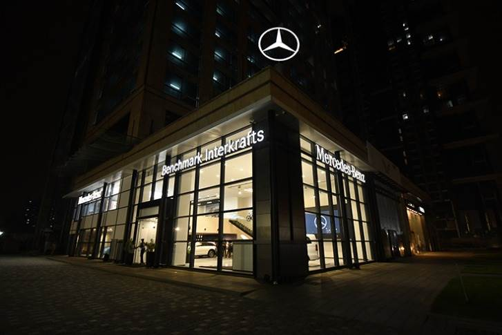 Mercedes- Benz India has the largest network spread amongst any luxury carmaker, with a presence in 48 Indian cities with close to 100 outlets.