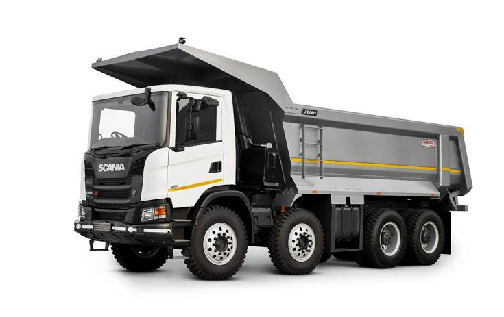 The Scania NTG U-body tipper. The Swedish major plans to launch an NTG for the long-haulage business later this year..