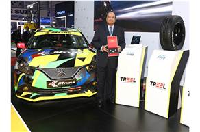 Raghupati Singhania, CMD JK Tyre during the launch of Smart Tyre Technology at Auto Expo 2020