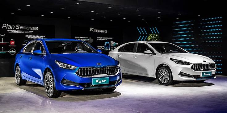 Kia is also showcasing the K3 EV at Auto China 2020 in Beijing.