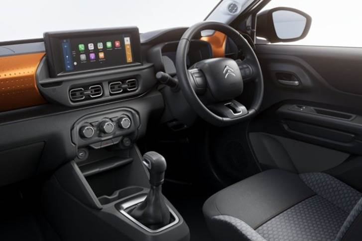 On the inside, the company has livened up the cabin with a dash of orange across the dashboard and stylish split aircon vents being the key details grabbing attention.