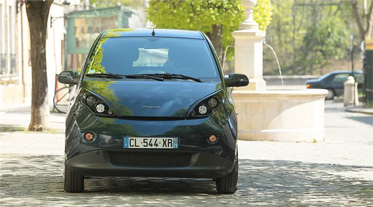 The strategic cooperation framework agreement will develop a solar electric vehicle based on Bluecar