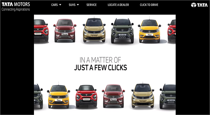 Tata Motors, like a few other OEMs, has online bookings for new purchases.