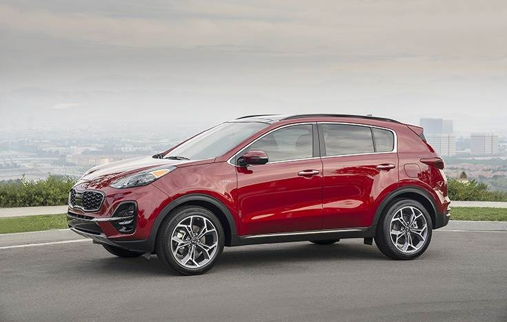 The Sportage SUV, with 30,949 units or 14% of total global sales in July, was Kia's best-seller.