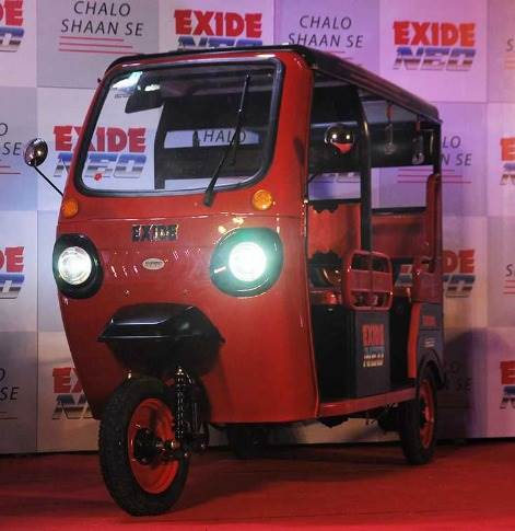 Exide Industries aims to make a difference in the e-rickshaw market with  superior technology, longer runs and a comfortable ride.