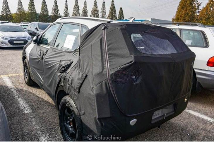 Kia compact SUV likely to get a completely new and more rounded body shell, as opposed to the Hyundai Venue's squarish design.